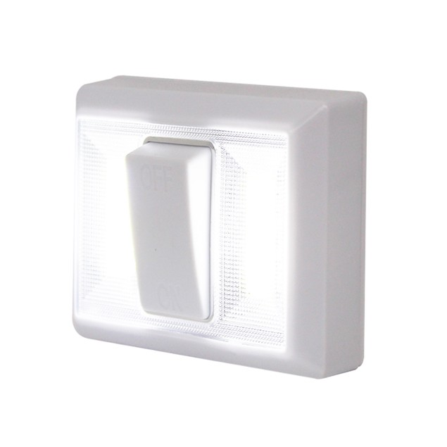 2-Pack Bright Basics Wireless Dual LED Light Switch