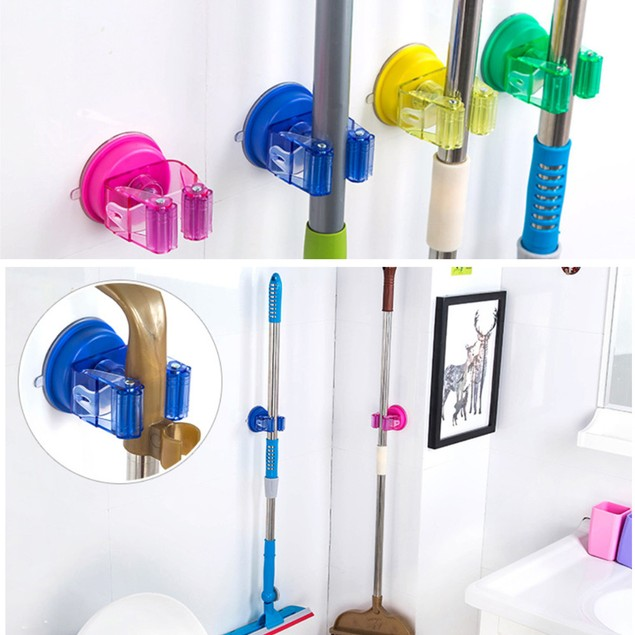 Multi-Function Sucker Mop Frame Holder