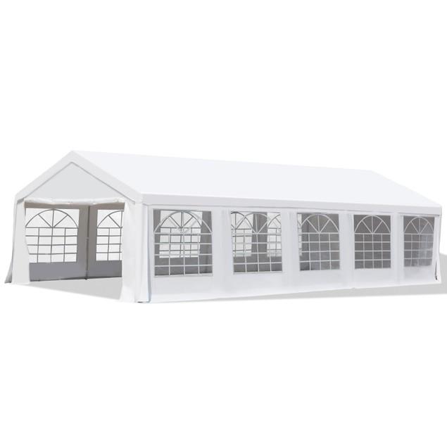 Heavy Duty White Carport Canopy Gazebo Wedding Party Tent Garage