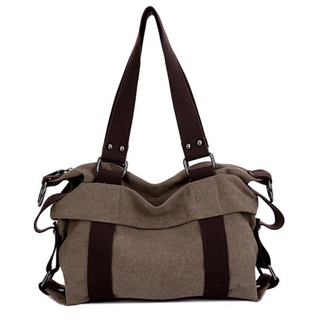 Multifunction Hit Color Canvas Bag