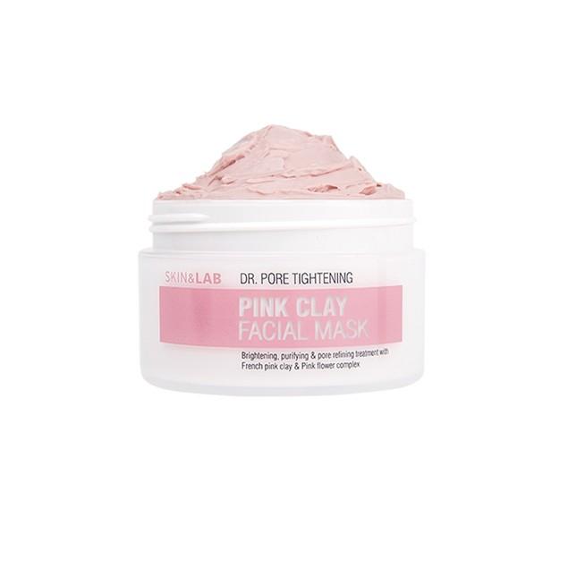 Skin & Lab Pink Clay Facial Mask