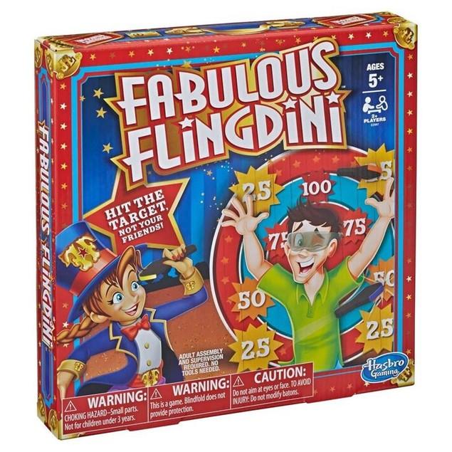 Hasbro HSBE2987 Fabulous Flingdini Family Fun Interactive Board Game