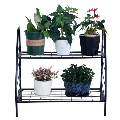 2-Tier Indoor Outdoor Plant Stand