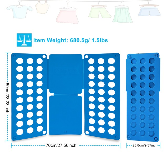 Shirt Folding Board Durable Plastic T-Shirts Clothes Folder