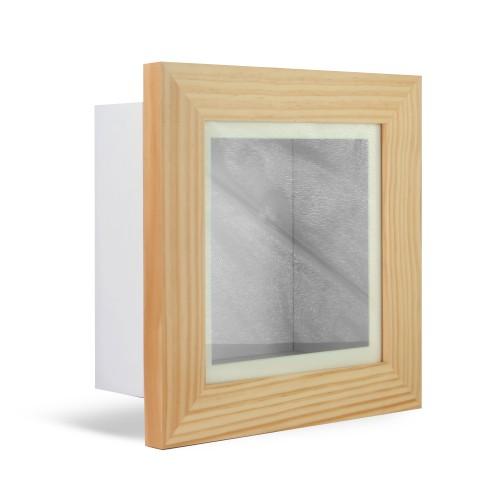"MandW 3D Box Frame Oak 8"" x 8"""