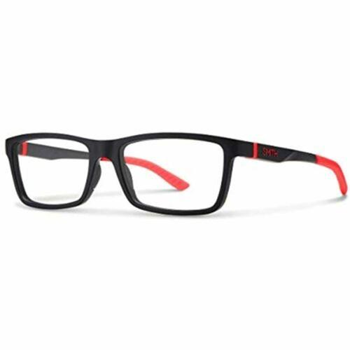 Smith Eyeglasses for Men Clockwork 0BLX BLX Crystal Red 55 17 140 with Demo Lens