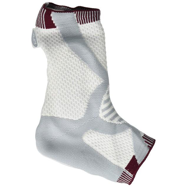 FLA ProLite 3D Compression Hospital Grade Ankle Support Left Med, White &
