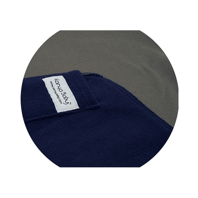 Karma Soft Cotton Navy/Charcoal Baby Sling