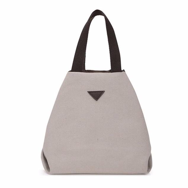 Womens Retro-Style Canvas Handbag