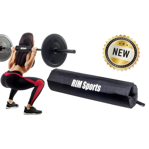 RIMSports Barbell Hip Thrust Neck Foam Pad for Weightlifting and Powerlifting