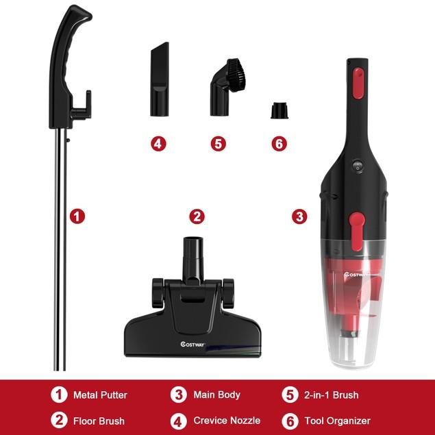 Costway 6-in-1 Handheld Stick Vacuum Cleaner
