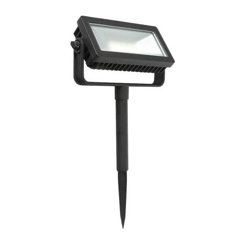 Hampton Bay Low Voltage Outdoor Integrated LED Landscape Flood Light, Black