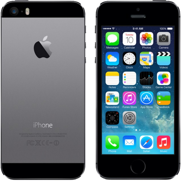 Apple iPhone 5s, AT&T, Gray, 32 GB, 4.0 in Screen