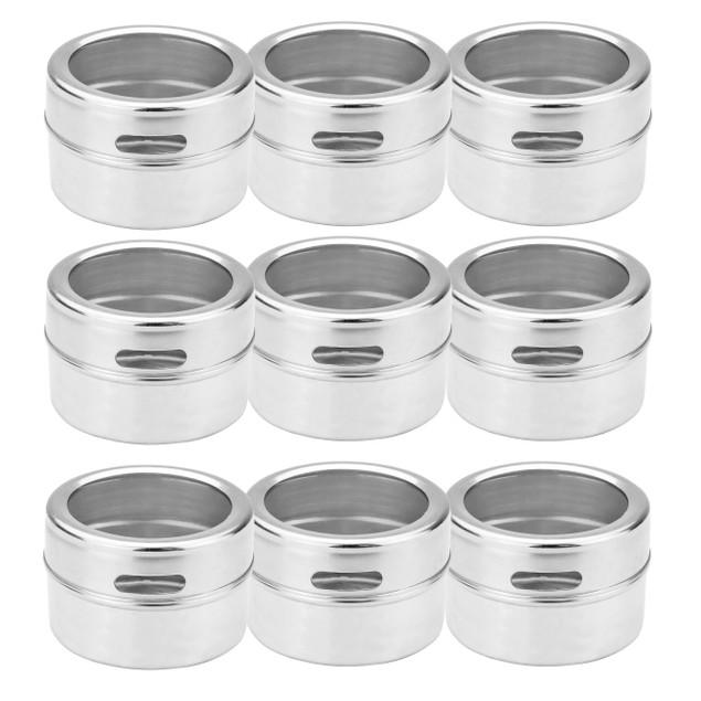 Magnetic Spice Tins - Set of 12   MandW