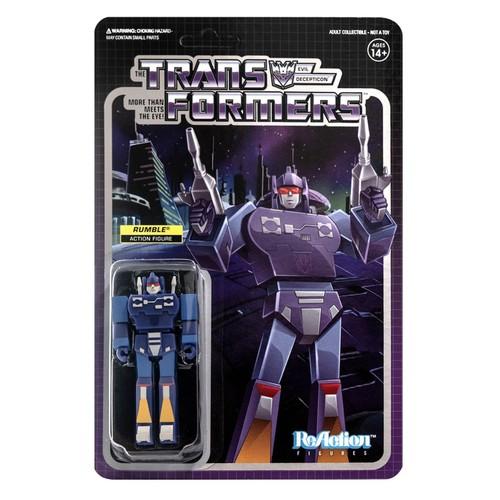 Rumble (Transformers) Super 7 ReAction Figure