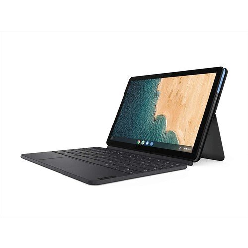 "Lenovo Chromebook Duet 10.1"" 64GB,Ice Blue + Iron Grey (Refurbished)"