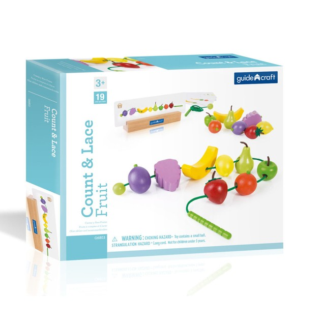 GuideCraft Count and Lace Fruit