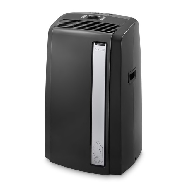 De'Longhi Pinguino 500 Sq. Ft. Portable Air Conditioner with Heat, Black