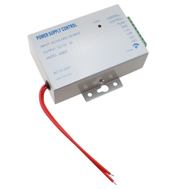 AC 110-240V TO DC12V 3A 36W POWER SUPPLY FOR DOOR ACCESS CONTROL SYSTEM