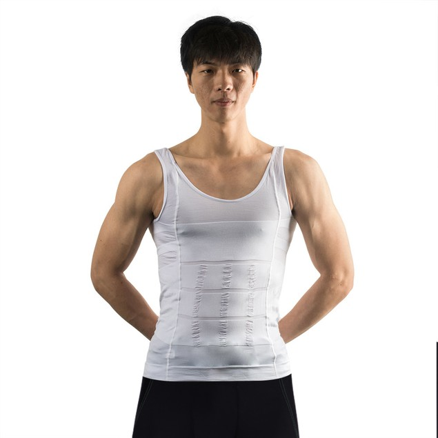 Men's Body Shaper For Men Slimming Shirt Tummy Waist Vest lose Weight Sport