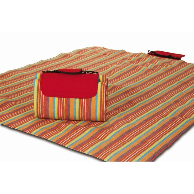 Picnic Plus Small Mega Mat VERY BERRY STRIPE