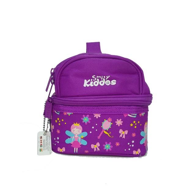 Smilykiddos Dual Slot Lunch Bag Purple