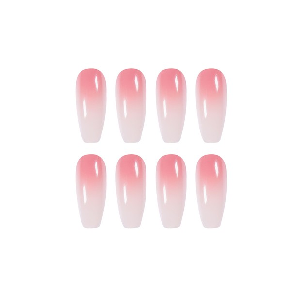 Gradient Nail Stickers Waterproof And Removable