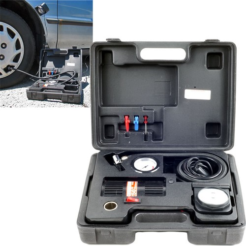 Stalwart Portable Air Compressor Kit w/ Light