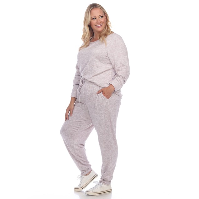 2 Piece Lounge Set - 6 Colors - Extended Sizes