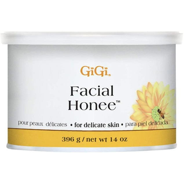 GiGi Facial Honee Hair Removal Wax for Delicate Skin, 14 oz