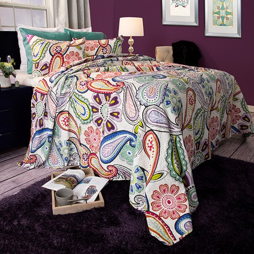 Lavish Home Lizzie 3 Piece Quilt Set