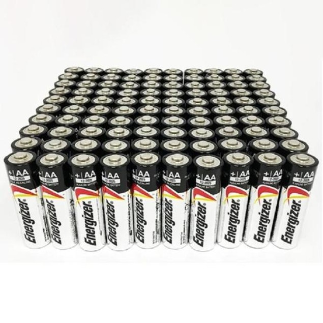 100-Pack: Energizer Max 50 AA and 50 AAA Alkaline Batteries
