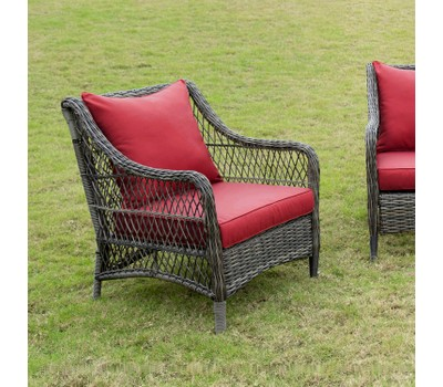 Art Leon Outdoor Patio Cushion Set with Backrest and Seat Cushion Was: $69.99 Now: $54.99.