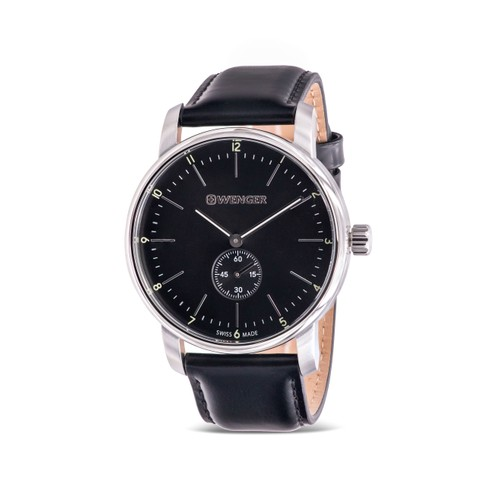 Wenger Urban Classic Leather Mens Watch