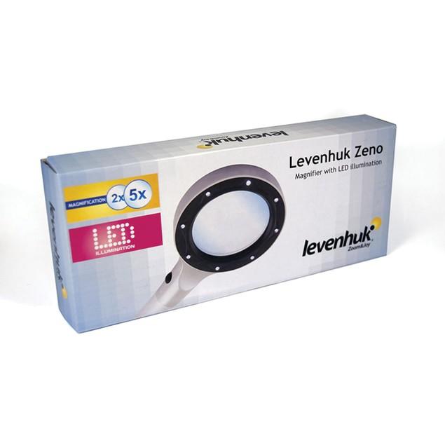 Levenhuk Zeno 400 LED Magnifier - 2/4x - 88/21 mm - Metal