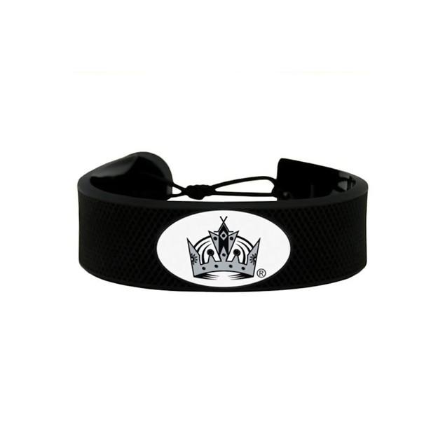 LA Los Angeles Kings NHL Hockey Puck Rubber Bracelet