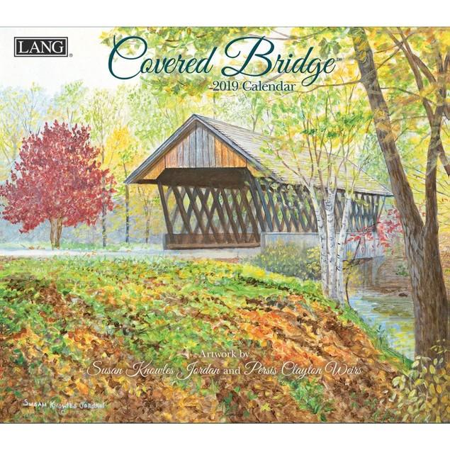 Covered Bridge Wall Calendar, LANG Wall Calendar by Calendars