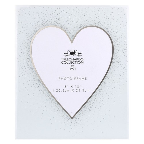 Heart and Silver Frame 8X10 By Lesser and Pavey