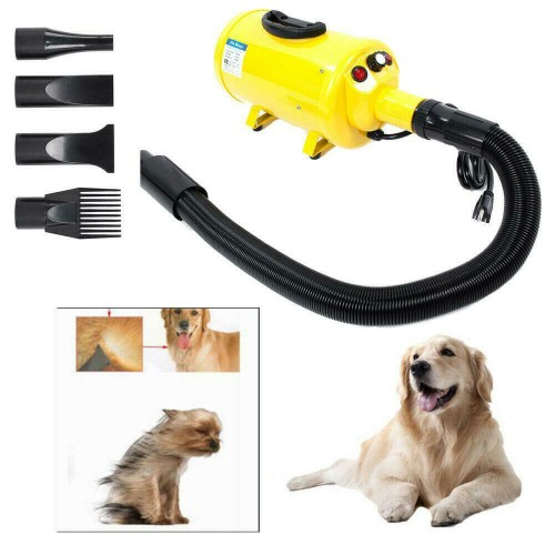 Summer Dog Cat Pet Groomming Blow Hair Dryer Quick Draw Hairdryer Yell