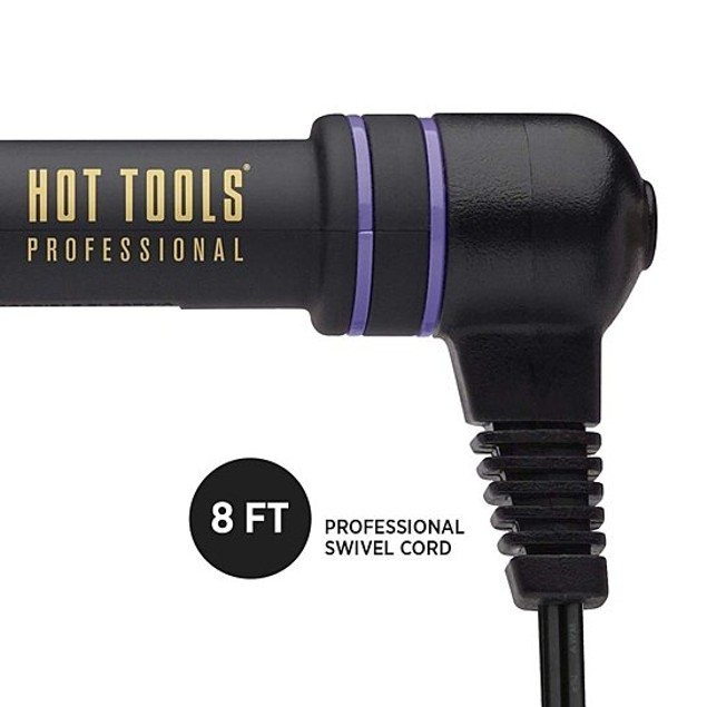 HOT TOOLS Signature Series Gold Curling Iron/Wand 1 1/4 inch