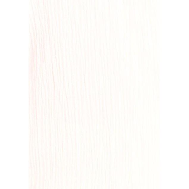 JM Collection Women's Crinkle Button-Neck Top Bright White Size Medium