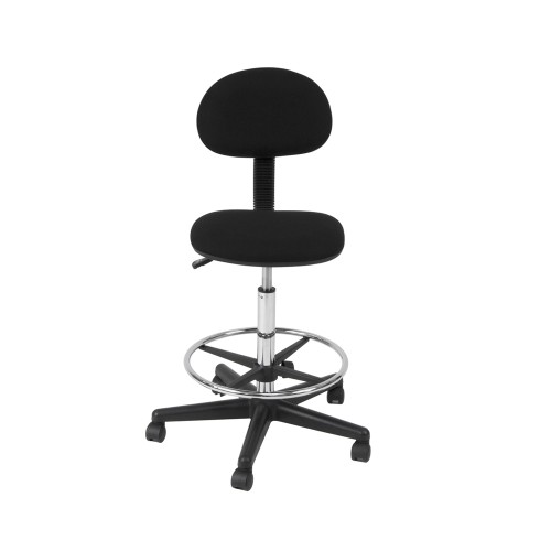 Offex Drafting Chair - Black