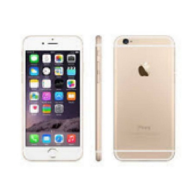 Apple iPhone 6 Plus, AT&T, Gold, 128 GB, 5.5 in Screen
