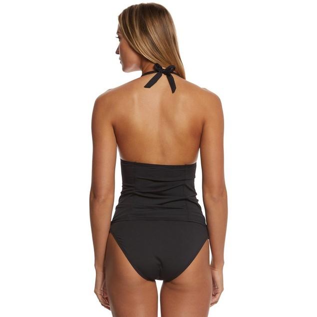 LOLE Women's Jamaique Tankini Swimsuit Top, Black, SIZE SMALL