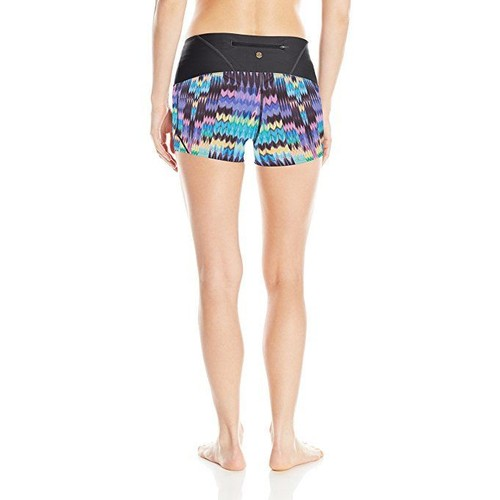 prAna Womens Rai Swim Shorts Aquamarine Rio Small