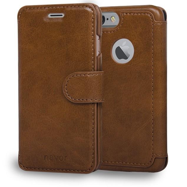 Navor Wallet Light Premium Flip Case for iPhone 7/8 [Zevo Series]