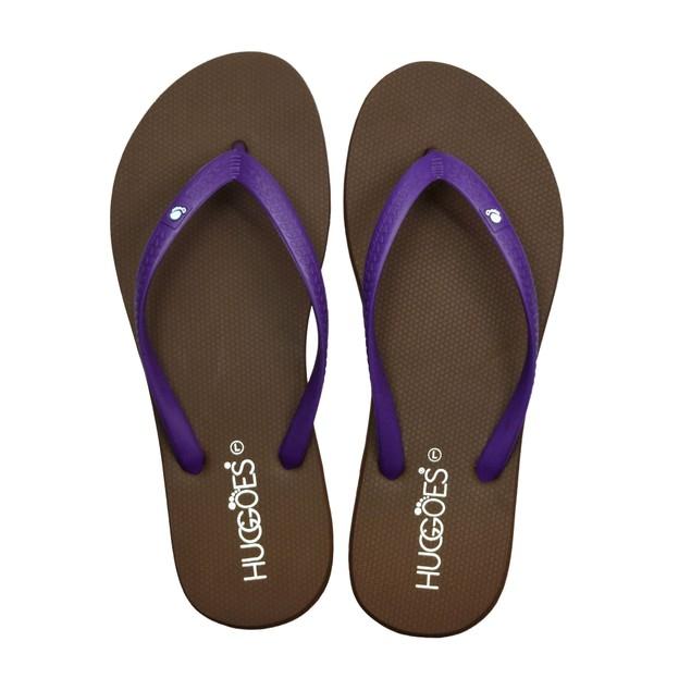 HUGGOES - Dusky Women's Natural Rubber Summer Flip-Flops