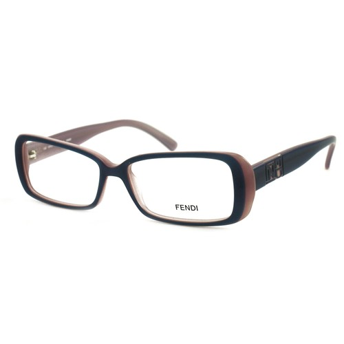 Fendi Women Eyeglasses FF768 538 Purple 53 15 140 Full Rim Rectangle