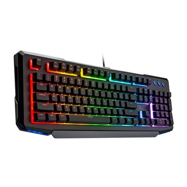 Rosewill NEON K42 RGB Membrane Mechanical Gaming Keyboard 8 LED Backlit Modes