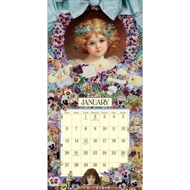 Victoriana Wall Calendar, More Folk Art by Calendars